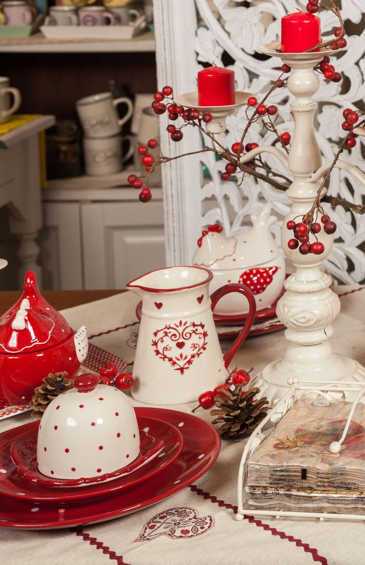 Detailed Polk-a-dots, beauty in our hands, intensity of red in our hearts!
