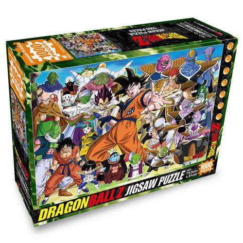 Dragon Ball Z Namek Saga 1000 pieces Jigsaw Puzzles+Box+Poster+Coating gel #YourName
