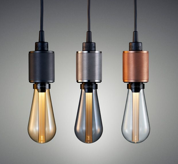 Buster Bulb.  They look like old Edison bulbs but Buster Bulbs are LEDs. They're designed to give off the same warm glow as  incandescent and filament lights but they're much more energy-efficient.