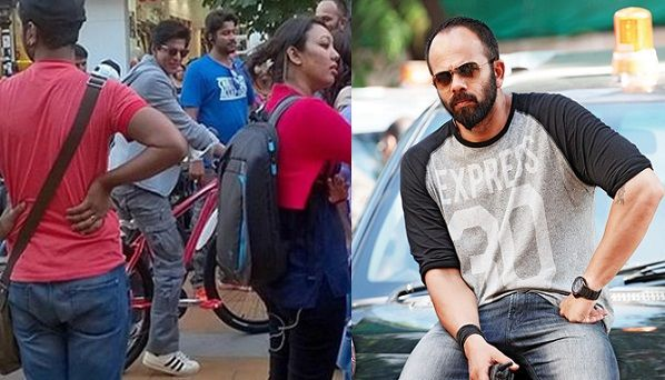 Shahrukh Khan got a bicycle from Rohit Shetty