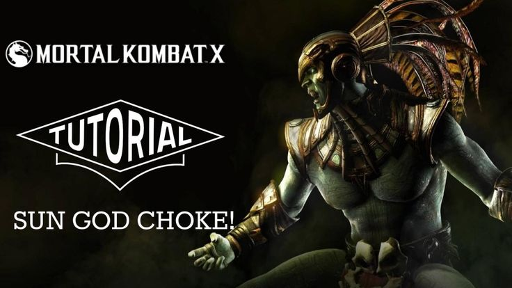 Mortal Kombat X Skill Focus: Sun God Kotal Kahn's Sun God Choke