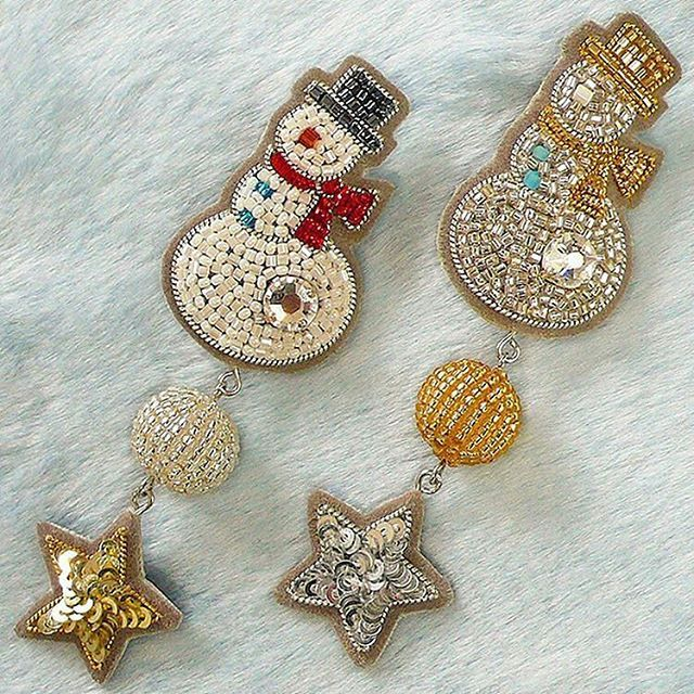 @tilia_embroidery  #christmas #ChristmasTree #BeadEmbroidery #beading  #handmade #accessory #embroidery #sequin #art #school #lesson