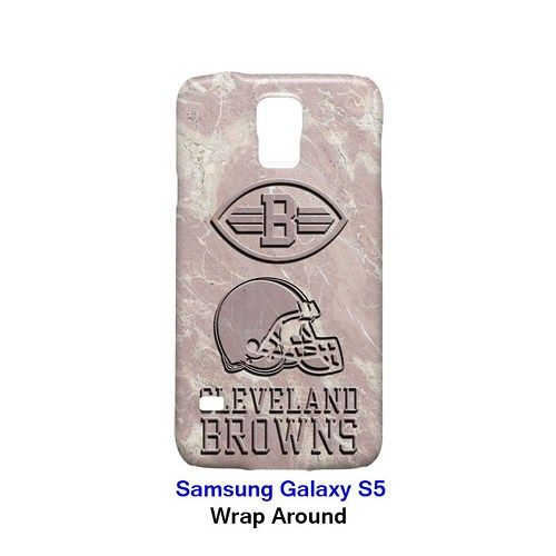Cleveland Browns Style Marble 3 Case for Samsung Galaxy S5