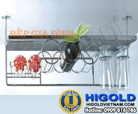 Kệ Inox treo cho quầy bar Higold – 412011