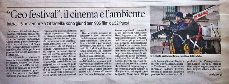 L' ultima imperdibile news su  Federica Ferretti: ospite d'onore al Geofestival...