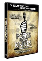 FORKS OVER KNIVES examines the profound claim that most, if not all, of the degenerative diseases that afflict us can be controlled, or even reversed, by rejecting animal-based and processed foods. The major storyline in the film traces the personal journeys of a pair of pioneering researchers, Dr. T. Colin Campbell and Dr. Caldwell Esselstyn.