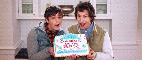 congrats! lol love the lonely island.