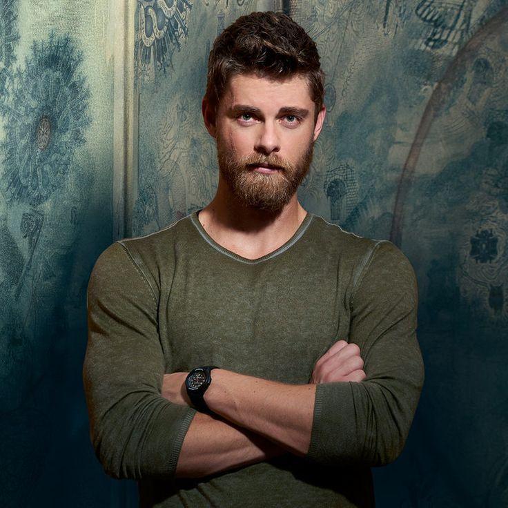 "Luke Mitchell plays Roman on the NBC drama ""Blindspot."""