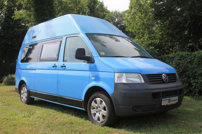 Volkswagen T5 Hochdach Fernweh Reisemobiles Webseite Volkswagen Vw T Vw Bus Ausbau