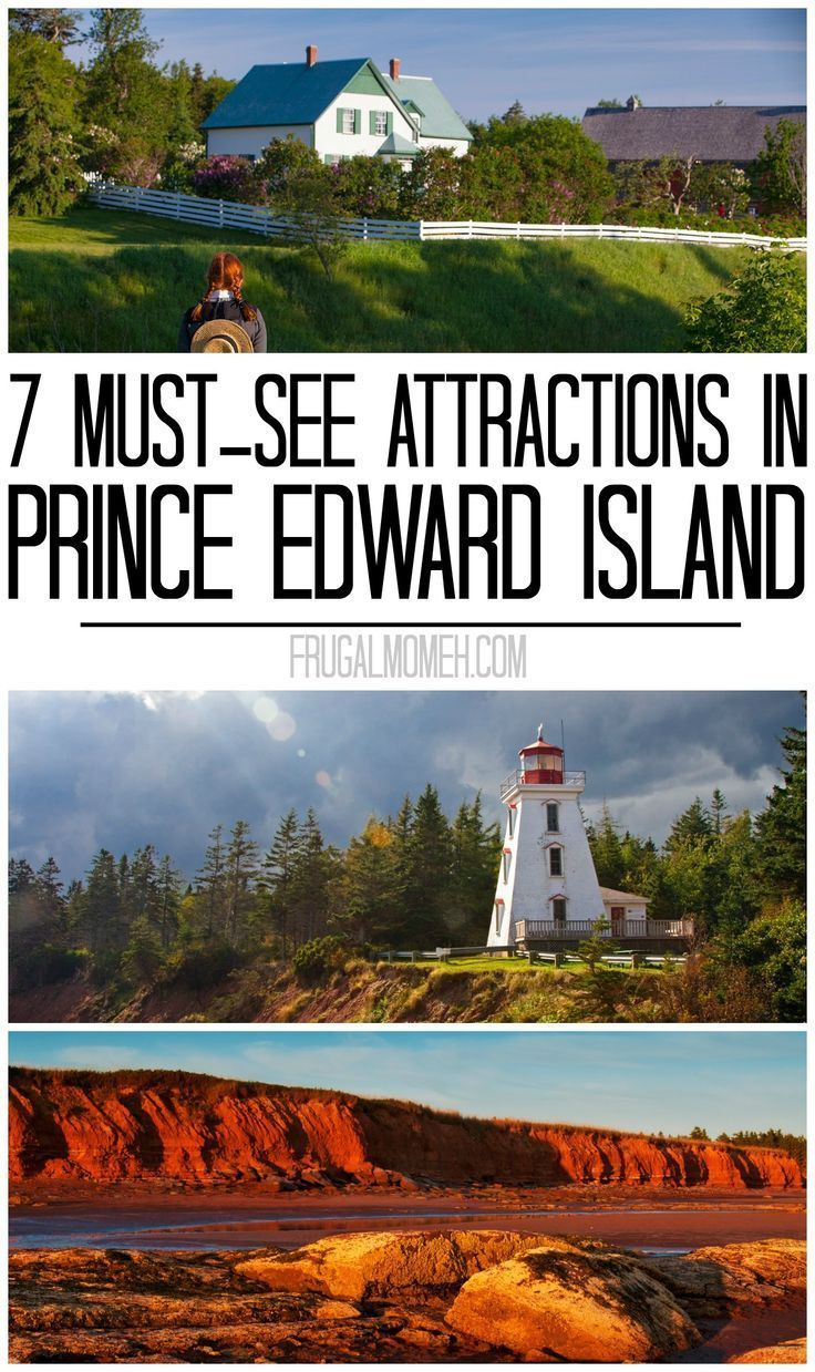 7 Must-See Attractions in Prince Edward Island whether travelling solo or on a family travel vacation in Canada!