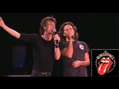 The Rolling Stones - Wild Horses (ft Eddie Vedder) - Live OFFICIAL----  Could this get any better??