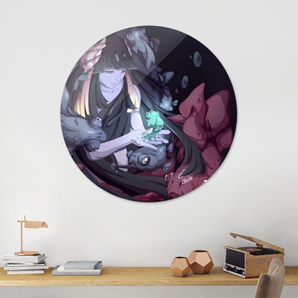 Beginning, Exclusive Edition Disk Print by Juha Ekman / Okuha - From $85 - Curioos