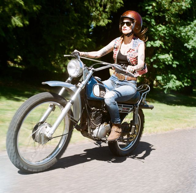 361 best vintage yamaha dt bikes images on pinterest for Yamaha motorcycles for women