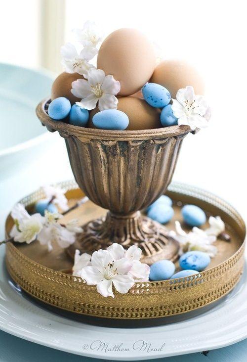 Elegant Easter decoration http://www.hotelklimek.pl/en/