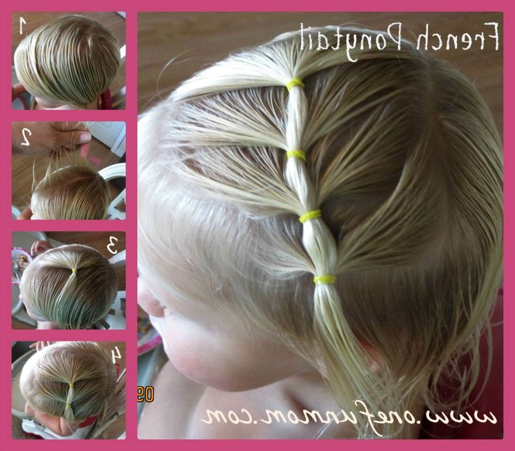 toddler girl hairstyles for short hair coiffure pour. Black Bedroom Furniture Sets. Home Design Ideas