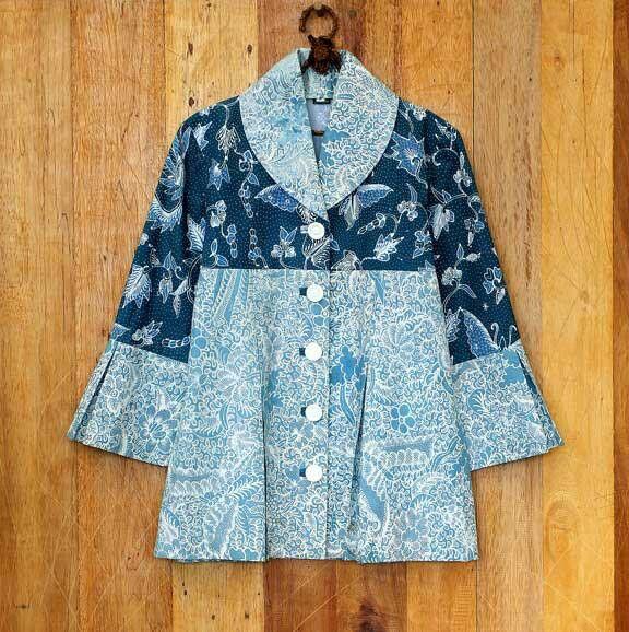Model Baju Batik Wanita 2015: Model Baju Batik Kerja Wanita 2015