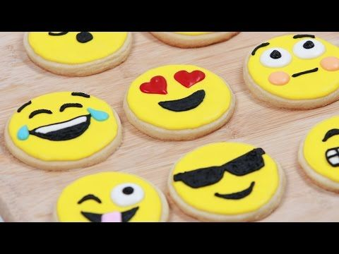 How to Make Emoji Cookies *Insert Dancing Ladies* | Brit + Co