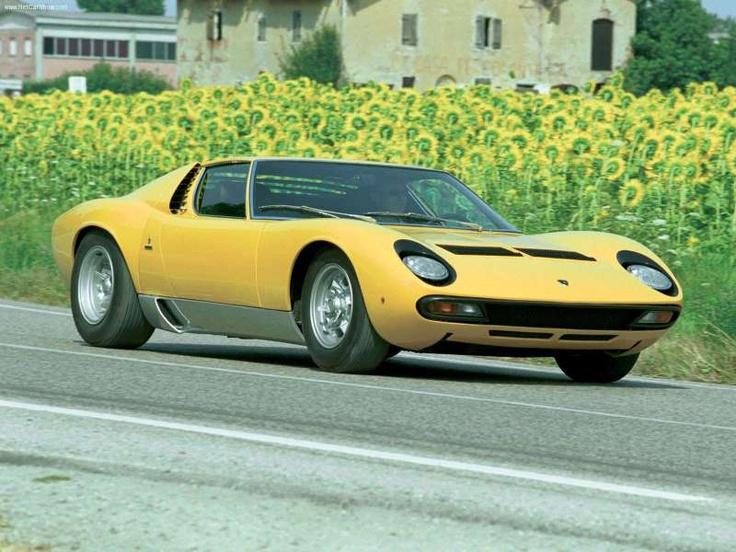 1971 Lamborghini Miura SV -- Still a stunner.