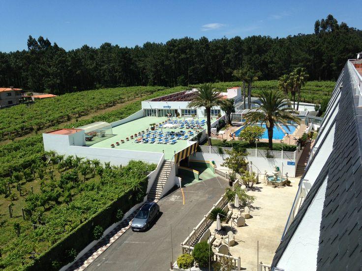 Vistas desde la terraza del hotel - Hotel Nuevo Vichona - Sanxenxo - Pontevedra - Galicia