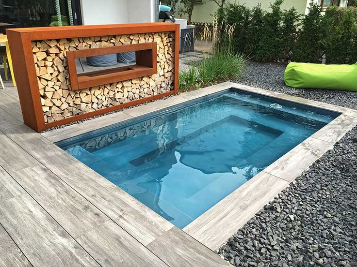 die besten 25 garten pool ideen auf pinterest au enpool. Black Bedroom Furniture Sets. Home Design Ideas