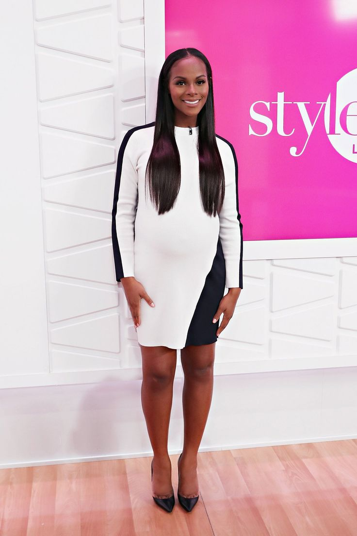 When you play Michelle Obama on-screen your wardrobe has to be on point—and Tika Sumpter's glamorous pregnancy style is outstanding.