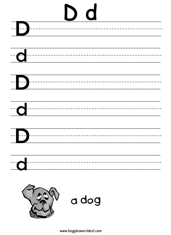 Worksheets Letter D Worksheets For Preschool 1000 images about preschool worksheets on pinterest letter d for google search