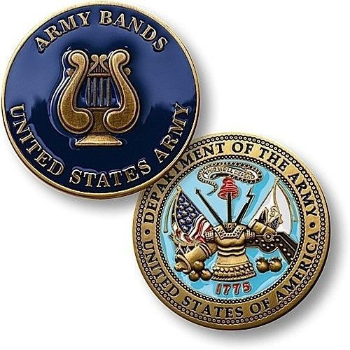 U.S. Army Band Coin