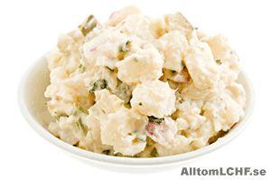 Potatissallad utan potatis | Allt om LCHF