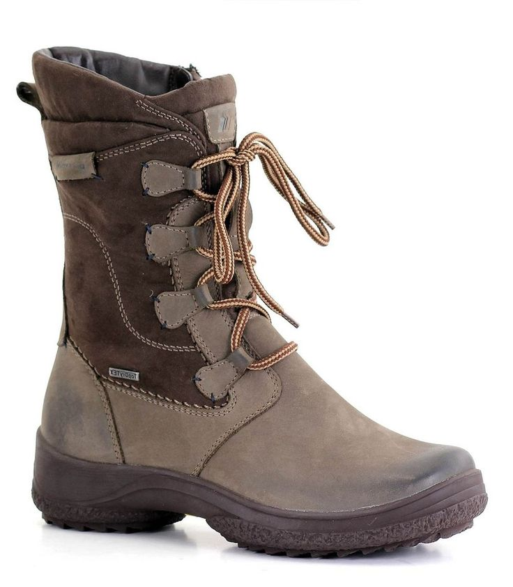 Be an explorer! This snow boot provides water and wind resistance, retractible metal ice spikes, and a grippy rubber sole.
