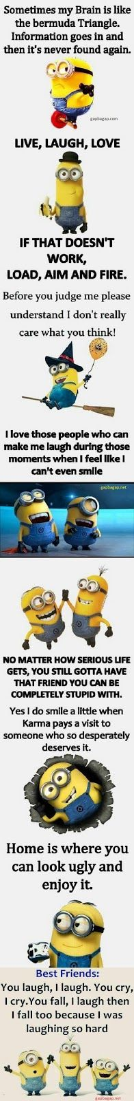 Top 8 #Funny #Minion #Quotes