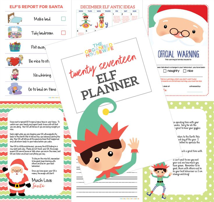 The Elf on the Shelf is a fun tradition to do with your kids through December. It's a little bit of magic that fills our home with laughter every Christmas. My 2017 Elf Planner is filled with 1 month of Elf on the Shelf antic ideas + a list of over 50 more ideas I have used throughout the years, 30+ notes from Santa and Elf to be left alongside Elf each night, editable (you can add your child's name) letters from Santa and Elf, official warning