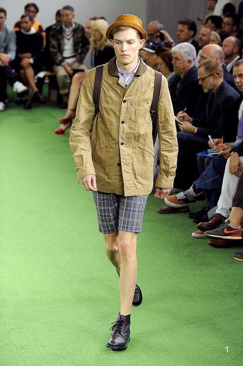 [No.1/55] COMME des GARÇONS JUNYA WATANABE MAN 2014春夏コレクション | Fashionsnap.com