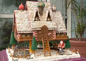 141 Best GINGERBREAD HOUSES OH SO PRETTY Images On Pinterest