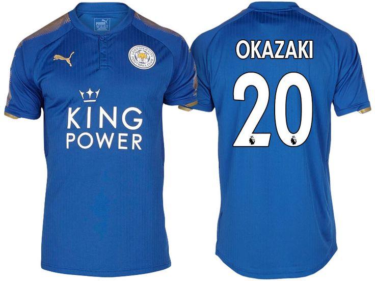 Leicester City Jersey shinji okazaki Home 17-18 Shirt