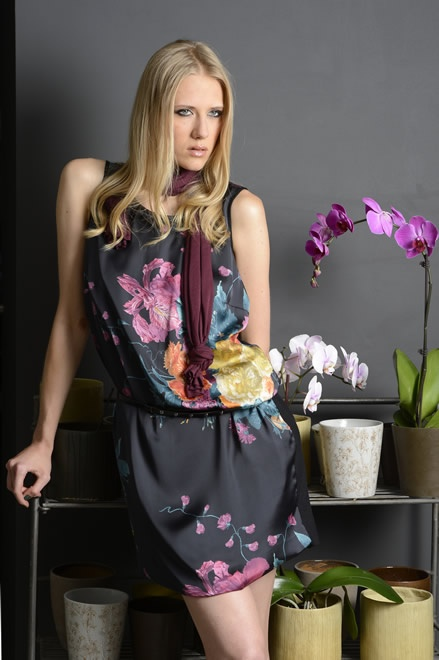 Flower dress for a romantic mood  #flower #danielacolombo #italy