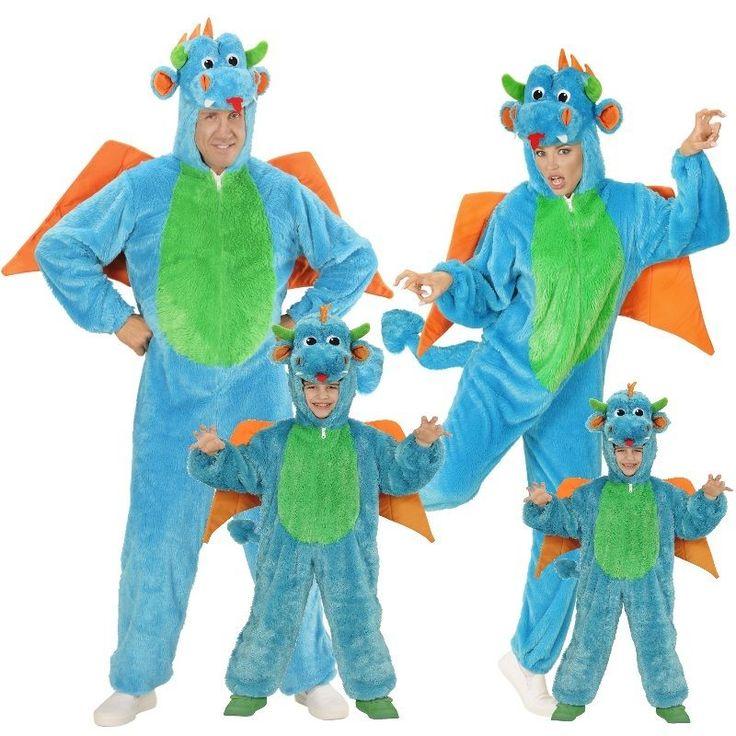 Drache Plüsch Kostüm für Kinder und Erwachsene Unisex - Karneval Fasching Tier in Kleidung & Accessoires, Kostüme & Verkleidungen, Kostüme | eBay!