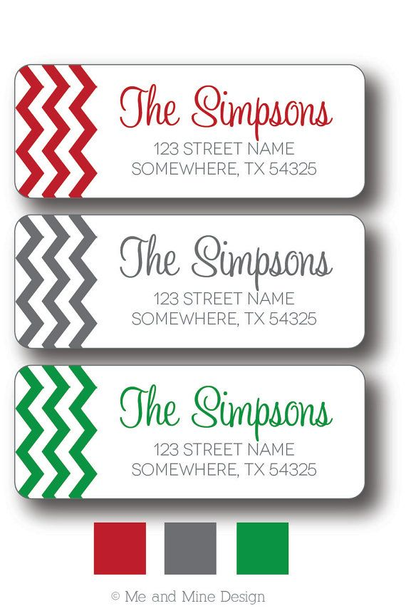 Sample Return Address Label Wrap Around Address Label Printable