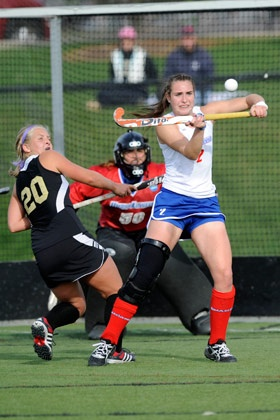 This is how NOT to play field hockey.