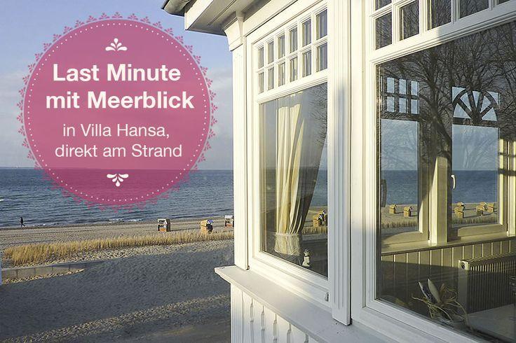 Last Minute mit Meerblick!!!  Last Minute-Angebote für Mai in Villa Hansa.
