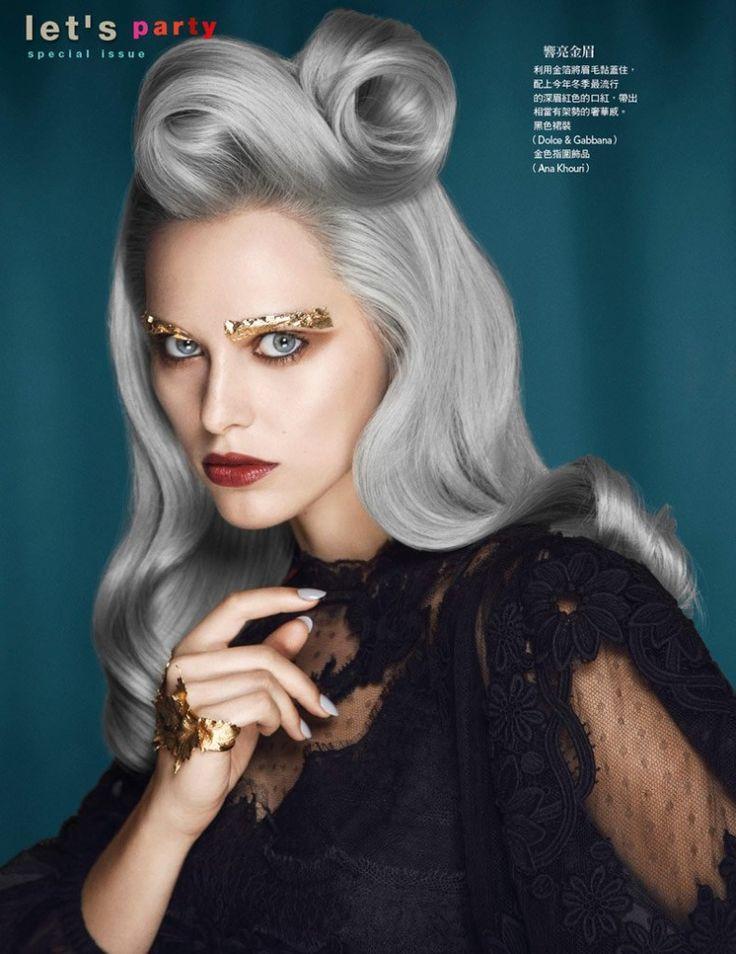 Make-up de Halloween inspirat după editoriale de beauty | Civilizatia | Revista de moda frumusete si stil de viata