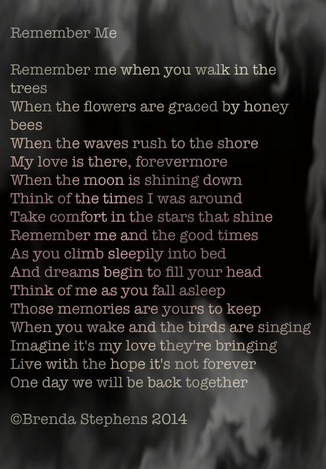 A poem I wrote recently about being parted from a loved one for a very long time.