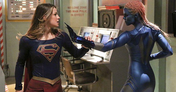 'Supergirl' First Look at Laura Vandervoort as Indigo -- 'Smallville' star Laura Vandervoort returns to the DC universe to portray the villainous Indigo in new photos from next week's 'Supergirl'. -- http://movieweb.com/supergirl-tv-show-indigo-laura-vandervoort-photos/