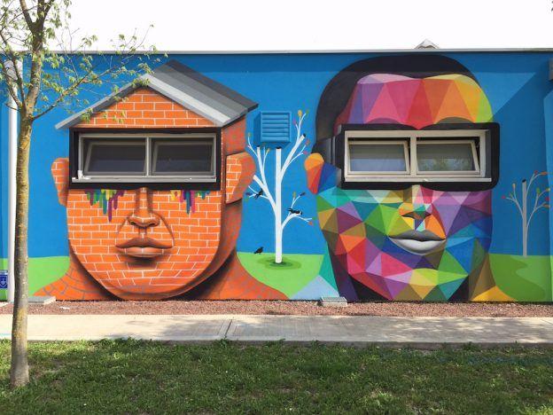 Best Street Art Images On Pinterest Artists Creative - Spanish street artist transforms building facades into amazing artworks