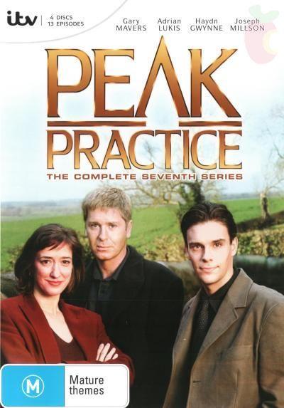 Peak Practice, Series 7, starring Gary Mavers, Adrian Lukas, Haydn Gwynne and Joseph Millson