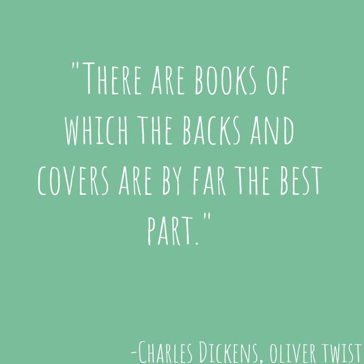 -Charles Dickens, Oliver Twist