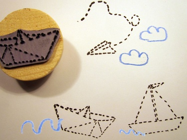 Cute rubber stamps