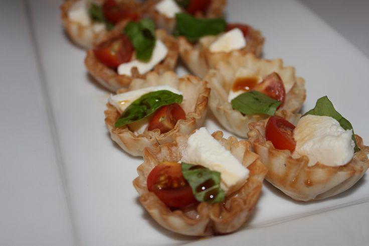 Mini Caprese Salad Bites, Thanksgiving | Princeton, New Jersey ...