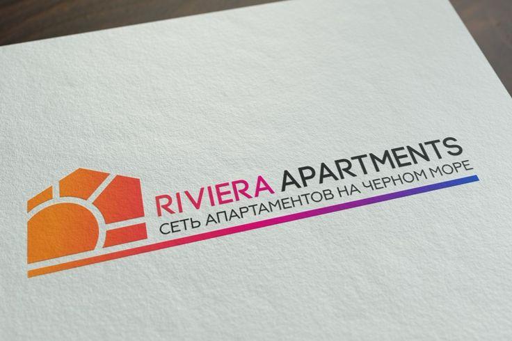 Логотип для Riviera Apartments    За основу изобразительного знака использована всеми узнаваемая, фигура дома, которая заключает в себе силуэт солнце. Все эти символы тесно связаны с предоставляемой услугой компании - апартаменты на черном море. Яркий многоцветный градиент выгодно выделяет компанию среди прочих, привлекая внимание. Логотип разработан таким образом, что при изменении масштаба + или - изображение не потеряет свой читабельности.