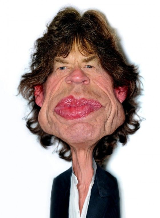 mick jagger by rodney pike