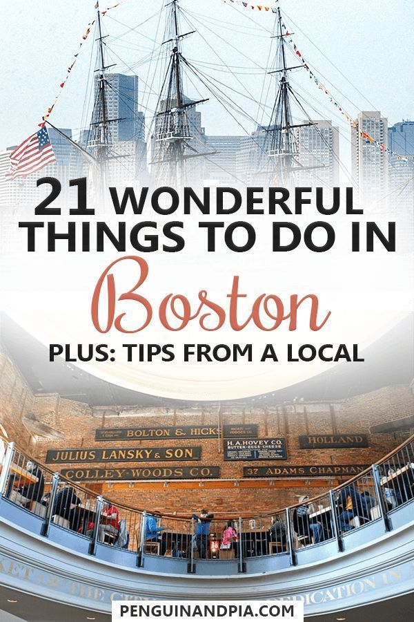 21 Wonderful Things To Do In Boston As Told By A Bostonian